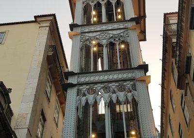 Bike Portugal and visit Lisbon's Famous Elevator