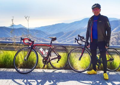 Guided Day Ride Road Cycling Malaga