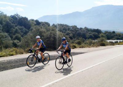 Road Biking in Spain