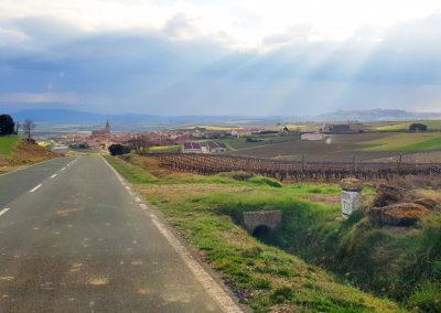 Landscape of La Rioja, Spain