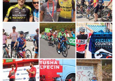 Riding La Vuelta a España