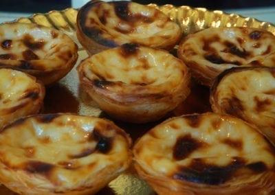 Delicious Desserts, Custard Tarts, Lisbon, Portugal
