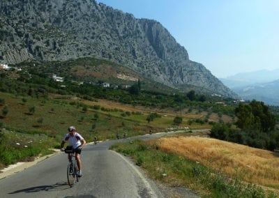 Best Cycle Route in Andalucia, Grazalema