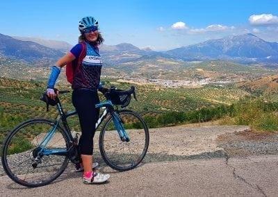 Cycling in Malaga, Axarquia