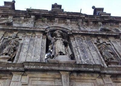 Cycling the Camino, Santiago de Compostela