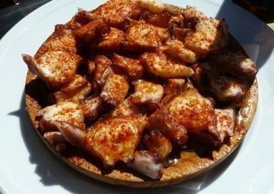 Great Galician Food on a Camino Bike Trip