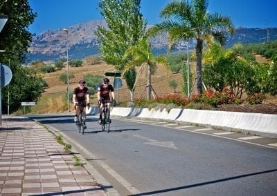 Best road cycling in Spain is in Andalucia