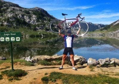 Road Cycling Lagos de Covadonga