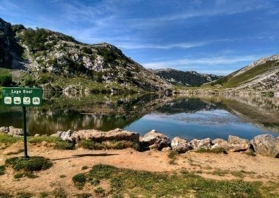 Lagos de Covadonga, Road Cycling
