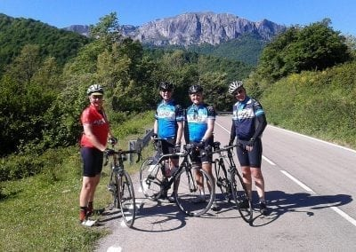 Cycling Vuelta Northern Spain Climbs!