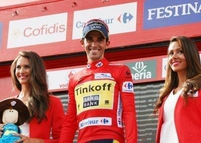 See Alberto Contador at La Vuelta - Mt. Castrove