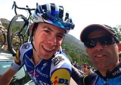 David de La Cruz, La Vuelta Bike Holiday 2019