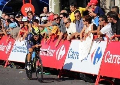 Ride the 2019 La Vuelta, ITT, Logroño, Esteban Chaves