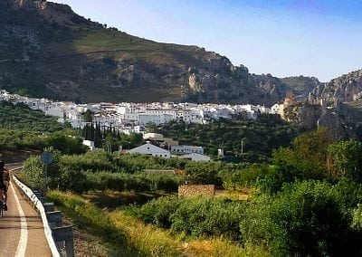 Cycling in Andalucia, Zuheros