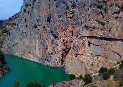 Andalucia cycling - El Chorro