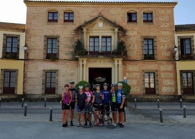 Cycling in Carmona, Andalucia