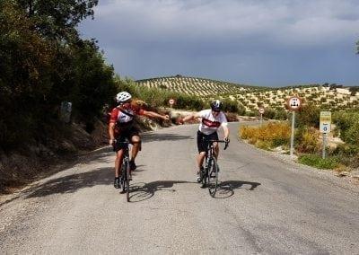 Cycling in Andalucia, Castro Del Rio