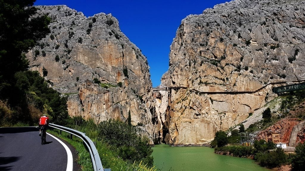 Biking in Andalucia, Cycling El Chorro