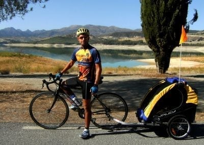 Cycling around Alhama
