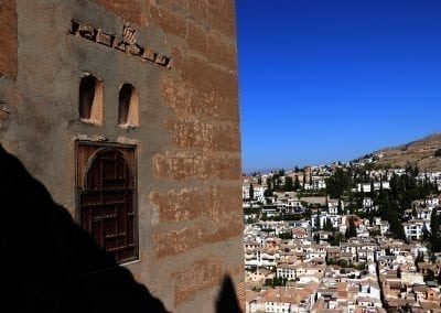 Bike to Granada's Alhambra palace