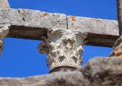 Roman Corinthian Capital - Evora, Alentejo, Portugal