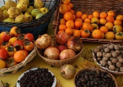 Eat Fruits of Andalucia on your Spanish Bike Tour
