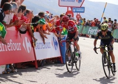 La Vuelta, Froome in Red, Chaves