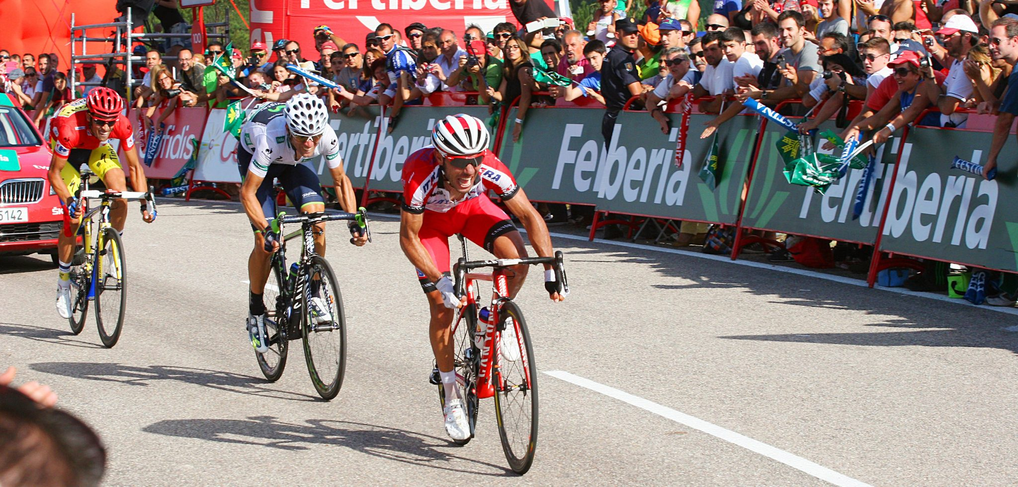 Vuelta Bike Tour and VIP finish