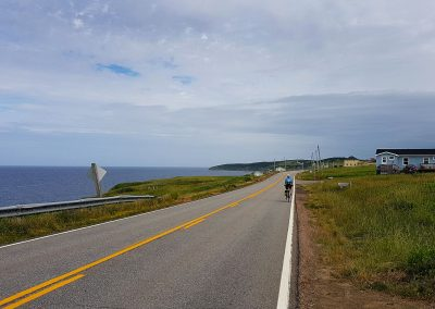 To Cheticamp, cycling the Cabot Trail