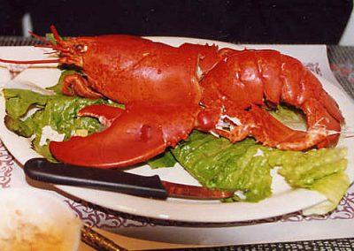 Lobster Meal - Cheticamp