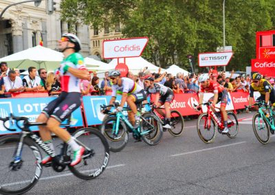 Bike La Vuelta Race Route, VIP access to Finish, see the winner