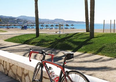 Cycling Along the Med