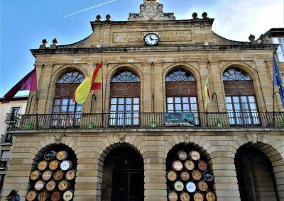 Cycling Rioja Wine region