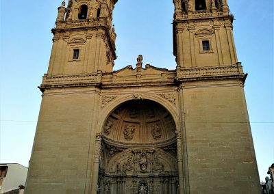 Cycling to Logroño, Rioja