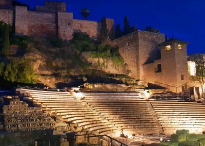 Malaga's Roman amphitheatre & Alcazar