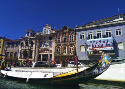 Cycle Porto to Lisbon and visit Aveiro