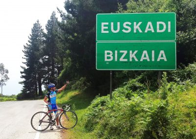 Cycle the Basque Country