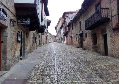 Santillana Del Mar village