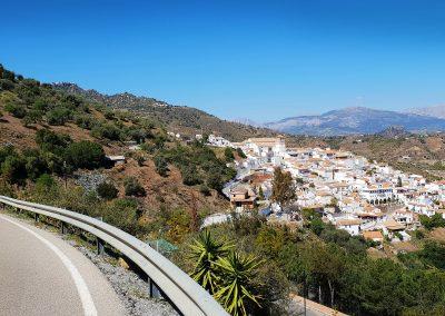 Cycling near Malaga