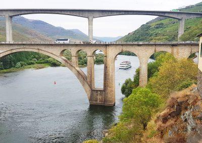 Peso da Regua's bridge over the Douro