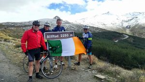 Road Bike Tour to the Pico Veleta in Sierra Nevada