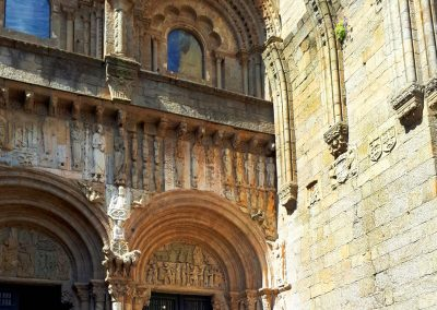 Bike Tour visiting Compostela's Cathedral