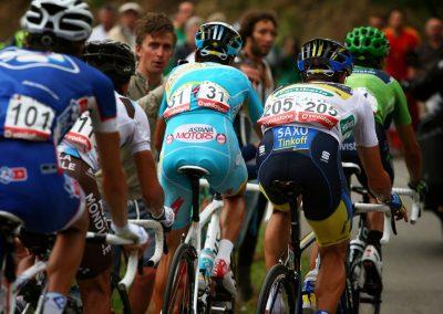 Cycling La Vuelta Peloton