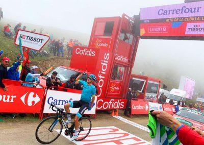 Great Vuelta Climbs, Alto de la Cubilla