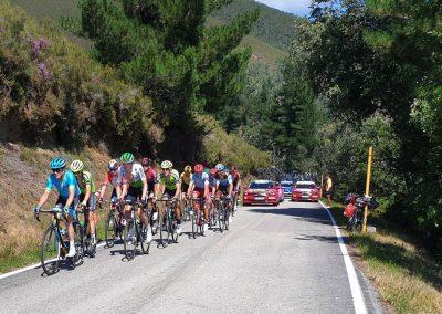 Cycling La Vuelta a España route
