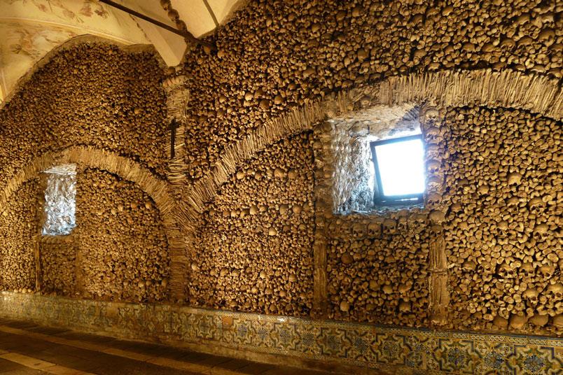 Portugal's Chapel of Bones, a macabre Tourist site