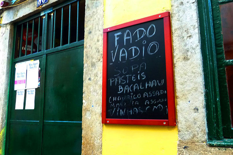 Best Places for Fado Music in Lisbon Portugal