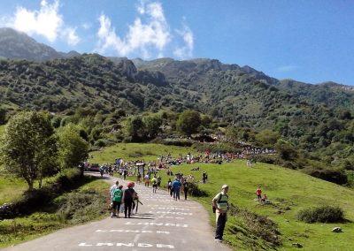 The Angliru, Top Spanish Climb, on Vuelta day