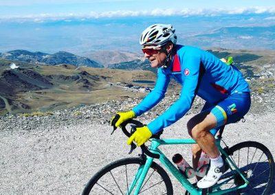Andalucia's Top Cycling Climb, Pico Veleta, Sierra Nevada