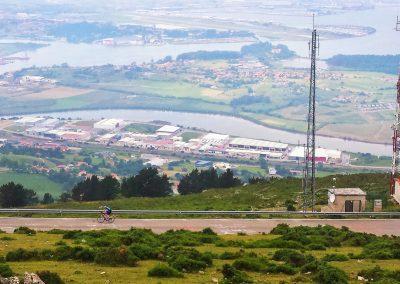 Cycling Peña Cabarga, Cantabria, a top Spanish climb